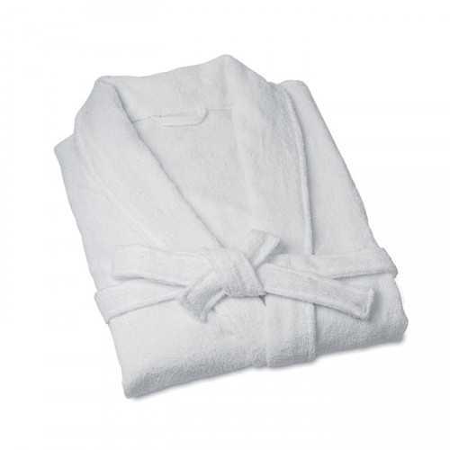 HOSTAL Peignoir personnalisable unisexe, taille L 100% coton éponge. 280 g/m².
