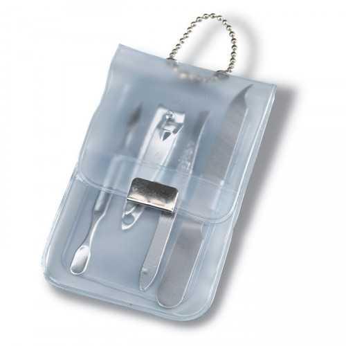 LACKS Etui personnalisable manucure en translucide.