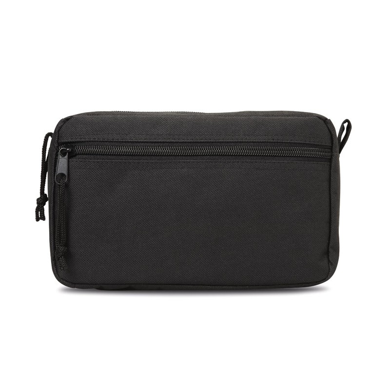 SMALL & SMART Trousse personnalisable de maquillage avec double zips. 600D polyester.