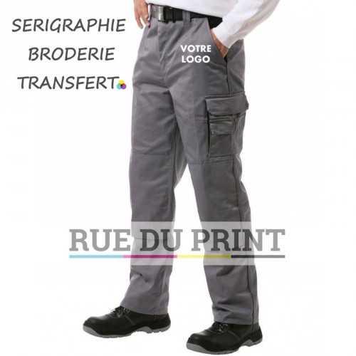 Pantalon travail Contrast