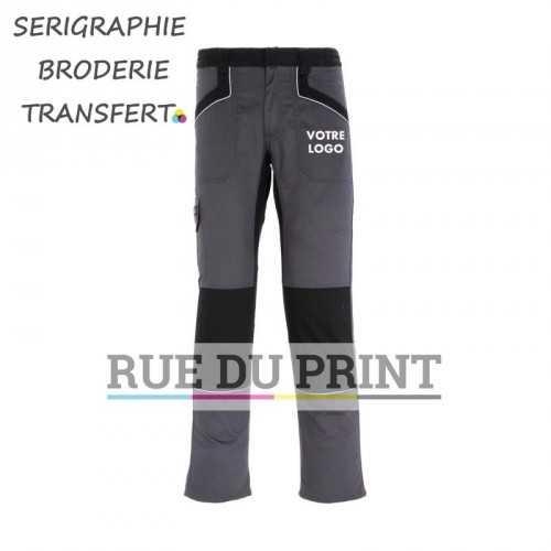 Pantalon publicité travail Industry260 65% polyester, 35% coton, 260 g/m² taille ajustable