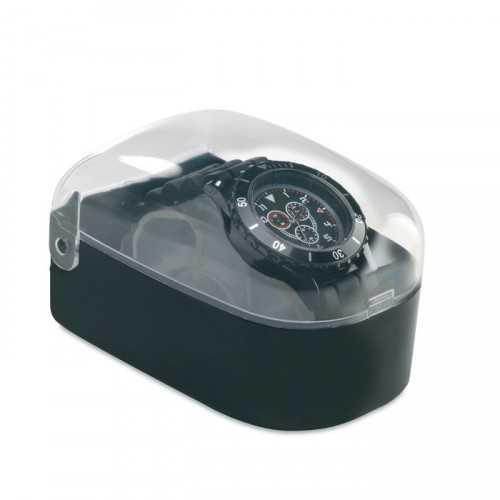 Montre à quartz en ABS MOTIONZONE boite plastique
