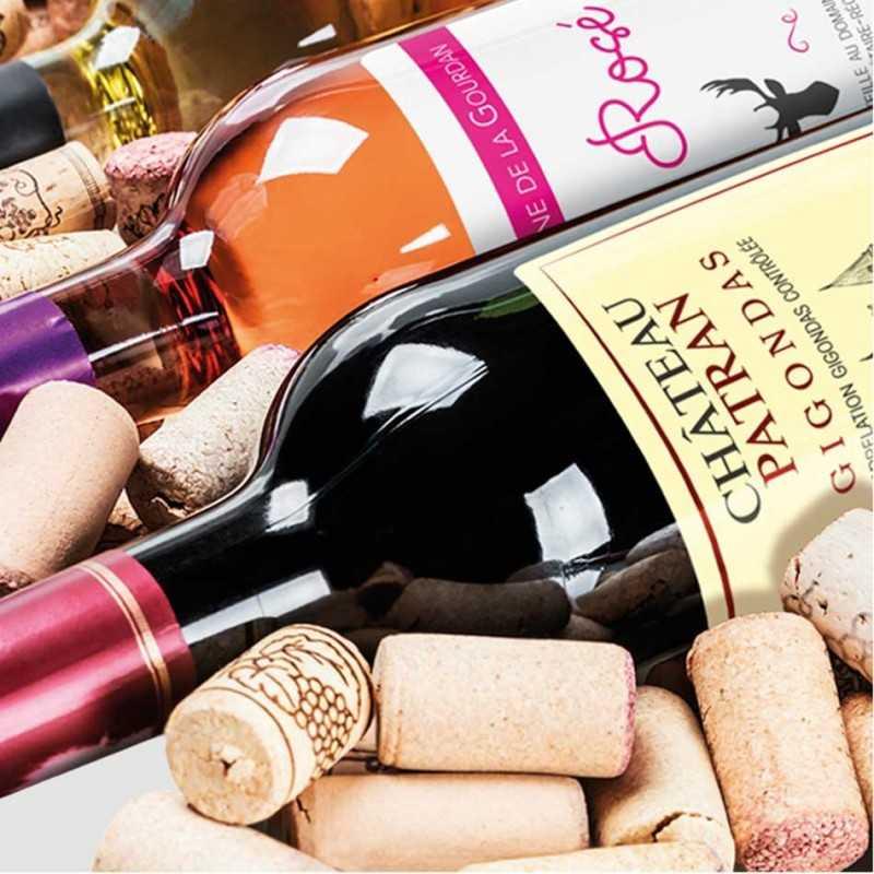 Étiquettes bouteilles de vin personnalisables tintoretto