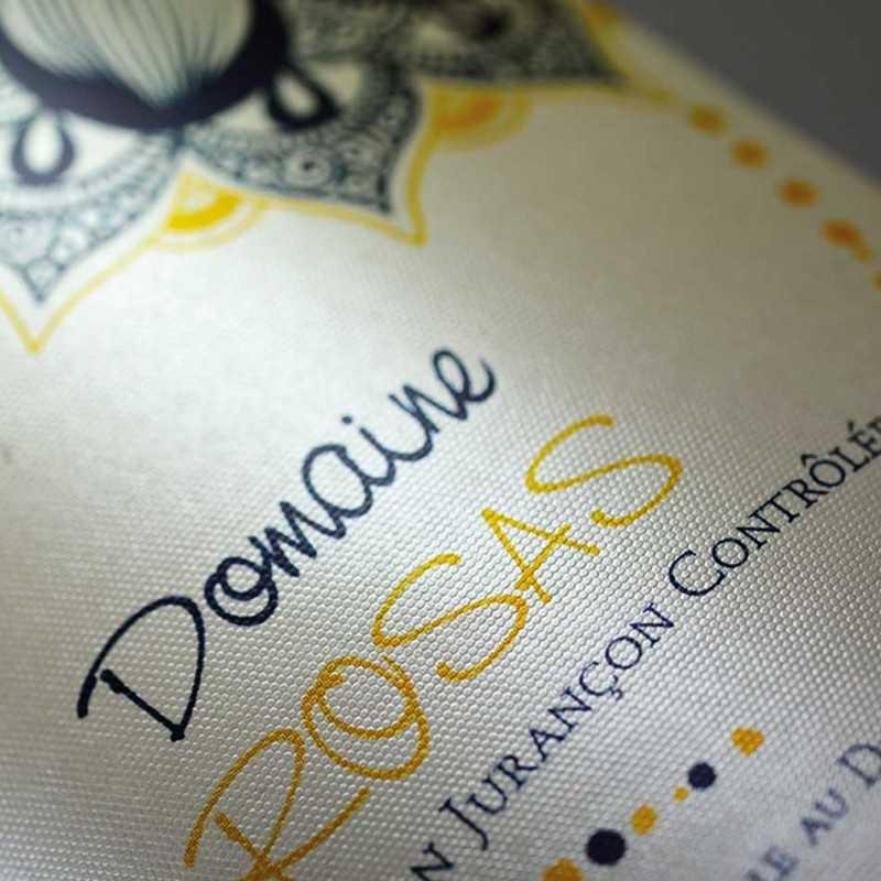 Étiquettes personnalisables aqua proof