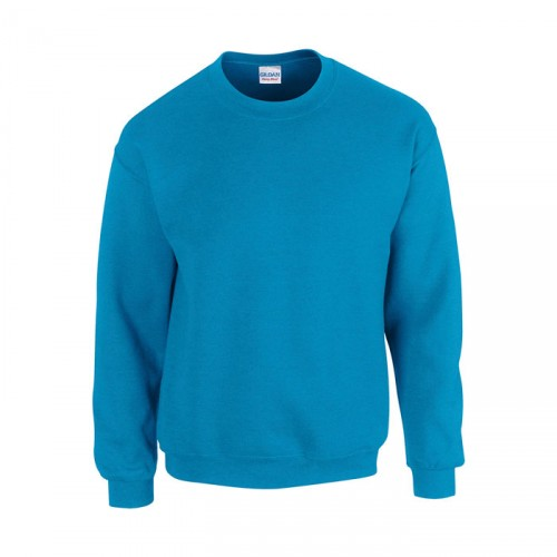HEAVY personnalisable bleu face BLEND SWEAT 18000 270 gr/m2 (White: 255 gr/m2). 50% coton, 50% polyester. Coton texturé (fil air