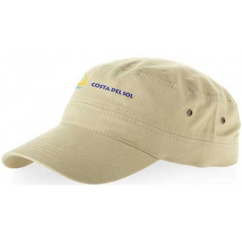 Casquette personnalisable San Diego 100% coton. Fermeture par scratch. Taille 58 cm. Coton. 190-195 g/m².