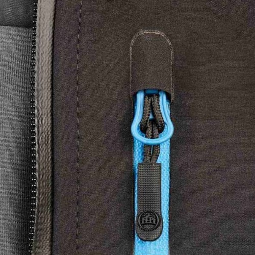 Veste personnalisée femme Expédition 290 g/m² 93% Polyester sergé, 7% Spandex mélangé à du TPU laminé et brossé