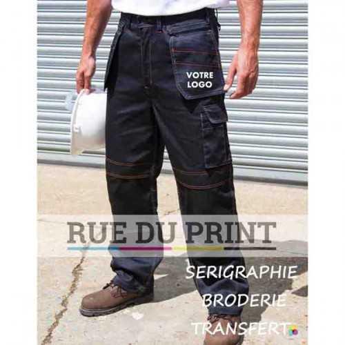Pantalon publicité lite x-over 80% polyester, 20% coton (sergé), 200 g/m² Poids léger
