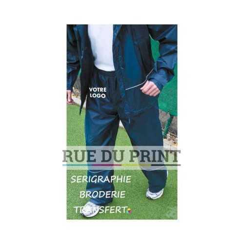 Pantalon publicité Waterproof 2000 Ext.: 100% polyester (210T ripstop) avec revêtement PU doublure: 100% polyester