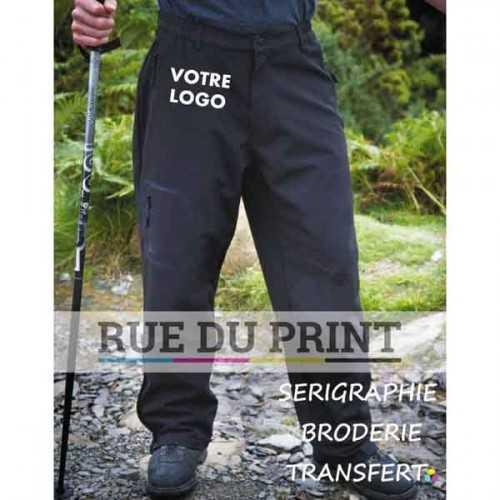 Pantalon publicité Performance ext: 93% polyester, 7% élasthanne, 300 g/m² couche moyenne: membrane respirante TPU, résiste au