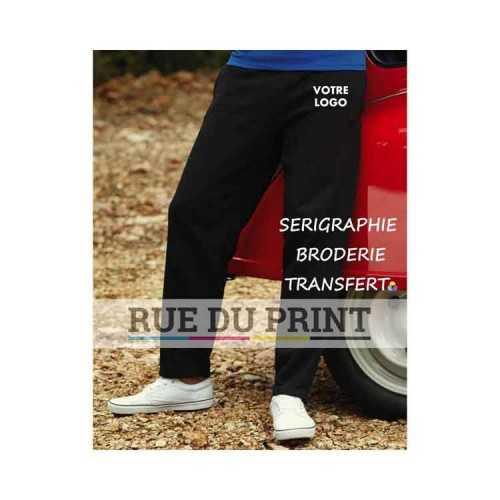 Pantalon personnalisé poches cotées 280 g/m² 80% coton, 20% polyester