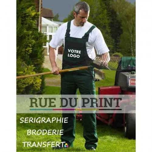 Salopette publicité Industry 300 Brace Tall 65% polyester, 35% coton, 300 g/m2 taille et dos élastiqués attache marteau