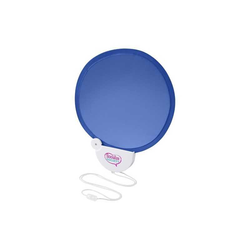 Ventilateur publicité pliable avec lanière Breeze Ventilateur qui se range dans son boitier plastique. Fourni avec lanière. Pl