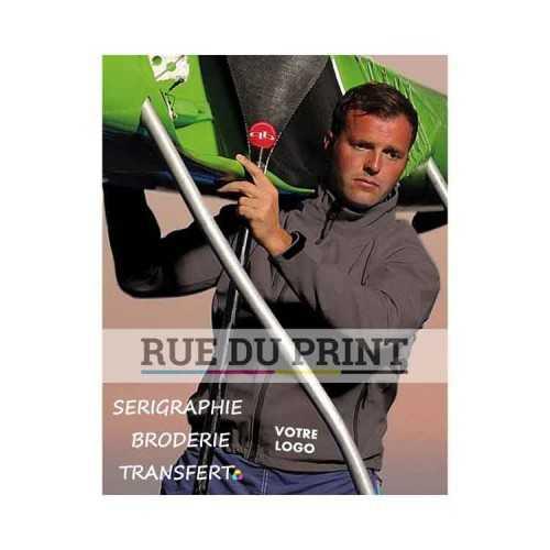 Veste publicité Ultra Light 97% polyester, 3% spandex, 300 g/m² veste mi- longue col montant
