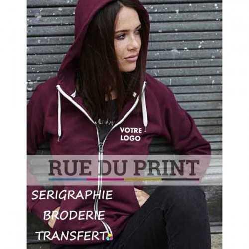 Sweat-shirt publicité femme Urban 320 g/m² 100% coton peigné ringspun coton égyptien à longues fibres