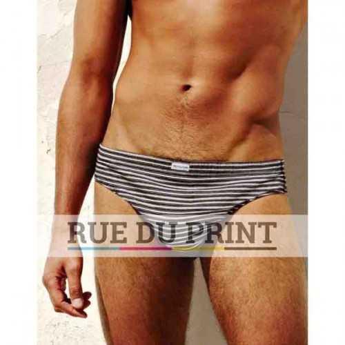 Culotte publicité homme, par 3 150 g/m² (White: 145 g/m²) 100% coton (jersey simple) coupe classique