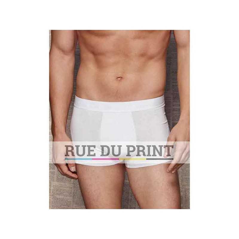 Boxer publicité homme Dexter 195 g/m² 92% coton ringspun peigné, 8% élasthanne jersey simple
