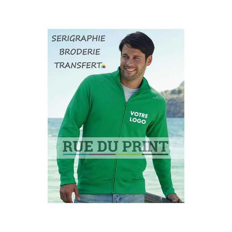 Veste publicité Sweat léger 240 g/m² 80% coton, 20% polyester fil Belcoro®