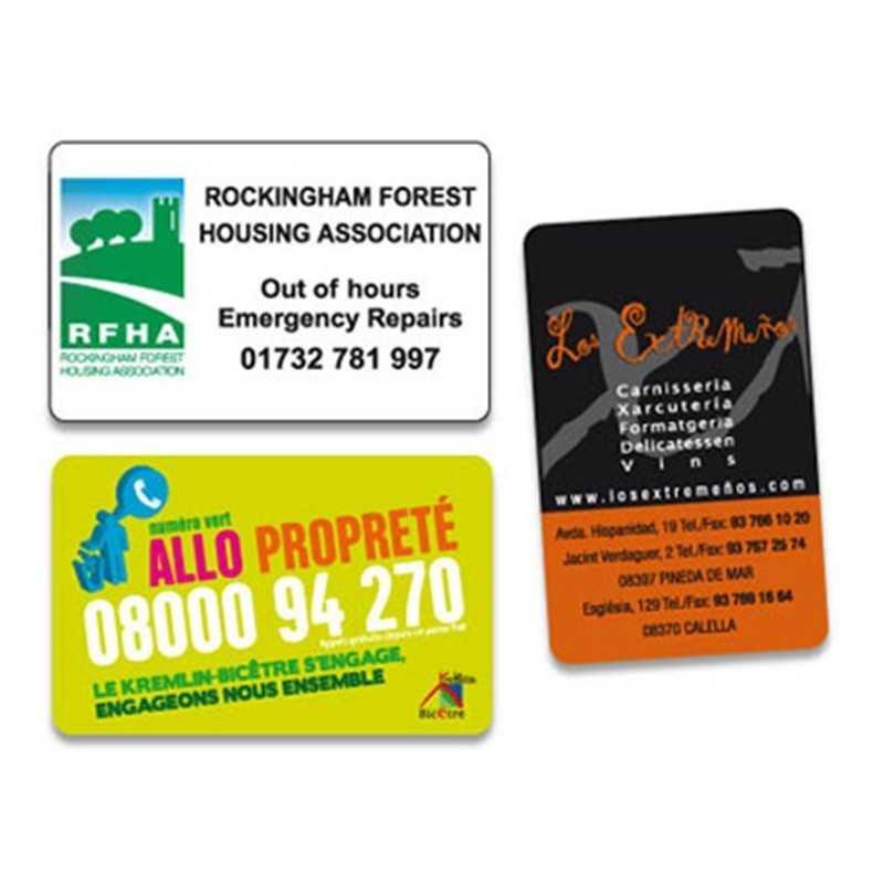 Magnet carte de visite personnalisé