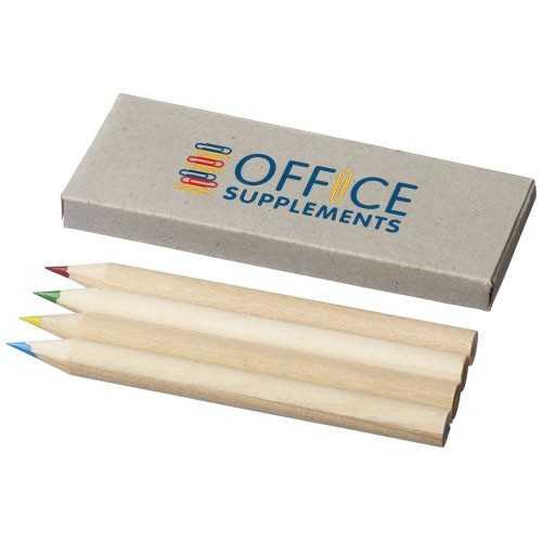 Set de 4 crayons de couleur