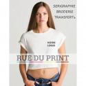 Tee-shirt femme court