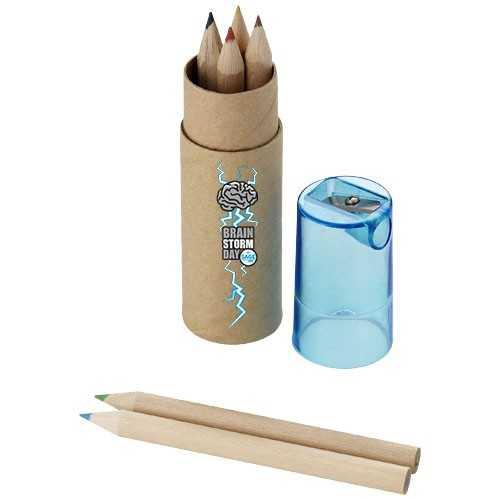 Set de 7 crayons de couleur