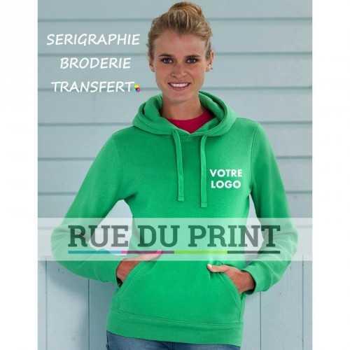 Sweat publicité femme Authentic 280 g/m² 80% coton ringpsun peigné, 20% polyester (tissu triple épaisseur)