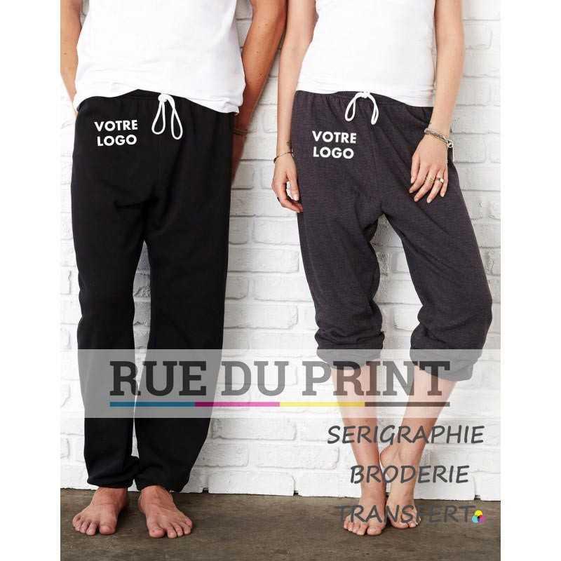 Pantalon publicité unisex 60% coton peigné ringspun, 40% polyester (Athletic Heather: 90% coton peigné ringpsun, 10% polyester),