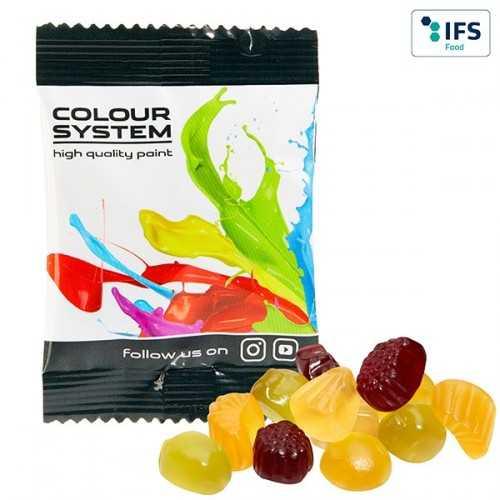 Mélange personnalisable de fruits vitaminés avec 25 % de fruits à partir de jus de fruits concentré, arômes naturels et coloran