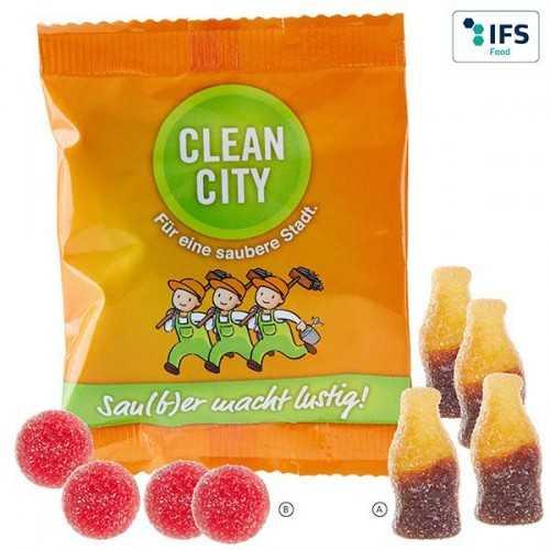 Gommes publicités de fruits acidulée Autres formes standards disponibles à partir de 320 kg