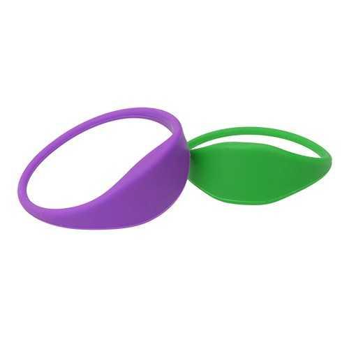 Bracelet silicone avec technologie NFC