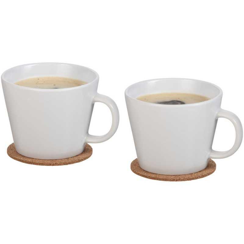 Set de 2 tasses avec sous tasse Hartley