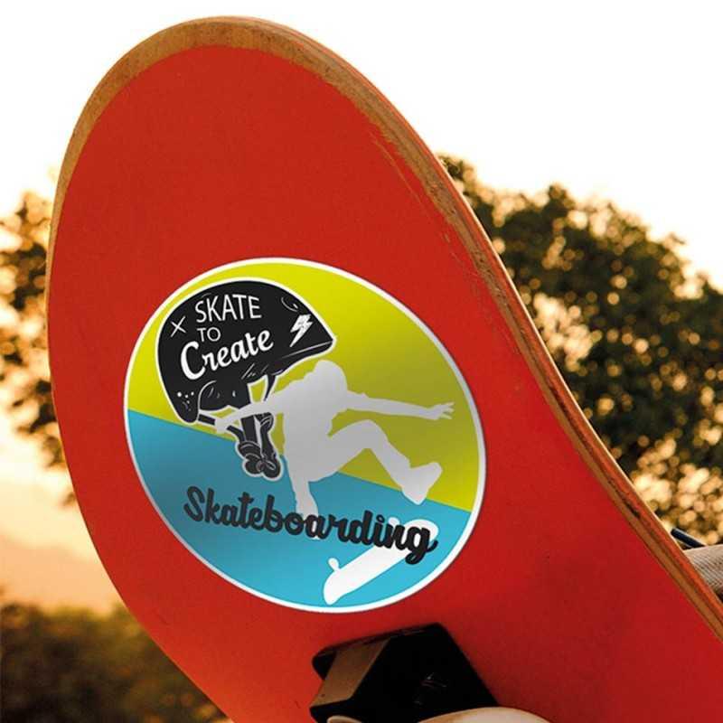 Stickers publicitaires ronds promotionnels