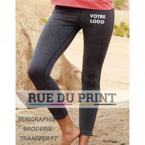 Pantalon publicité Active 250 g/m² 90% polyester (ACTIVE-DRY° ), 10% élasthanne (mélange) Large ceinture