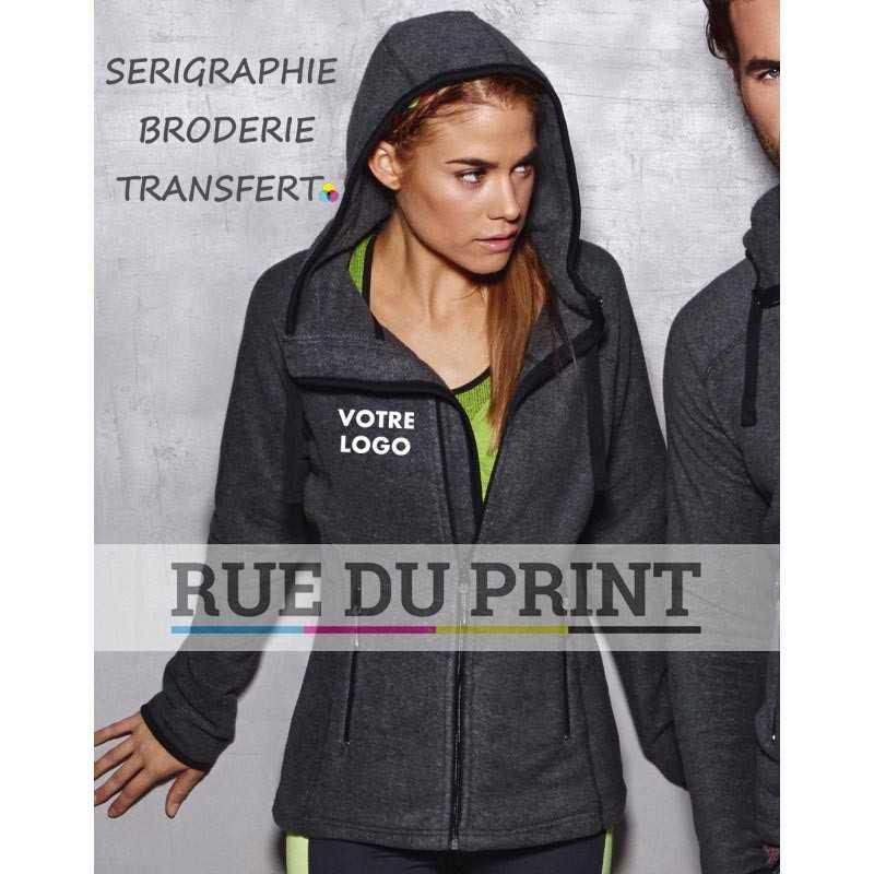 Veste publicité femme Active Power 280 g/m² 100% polyester (polaire traité anti peluche)