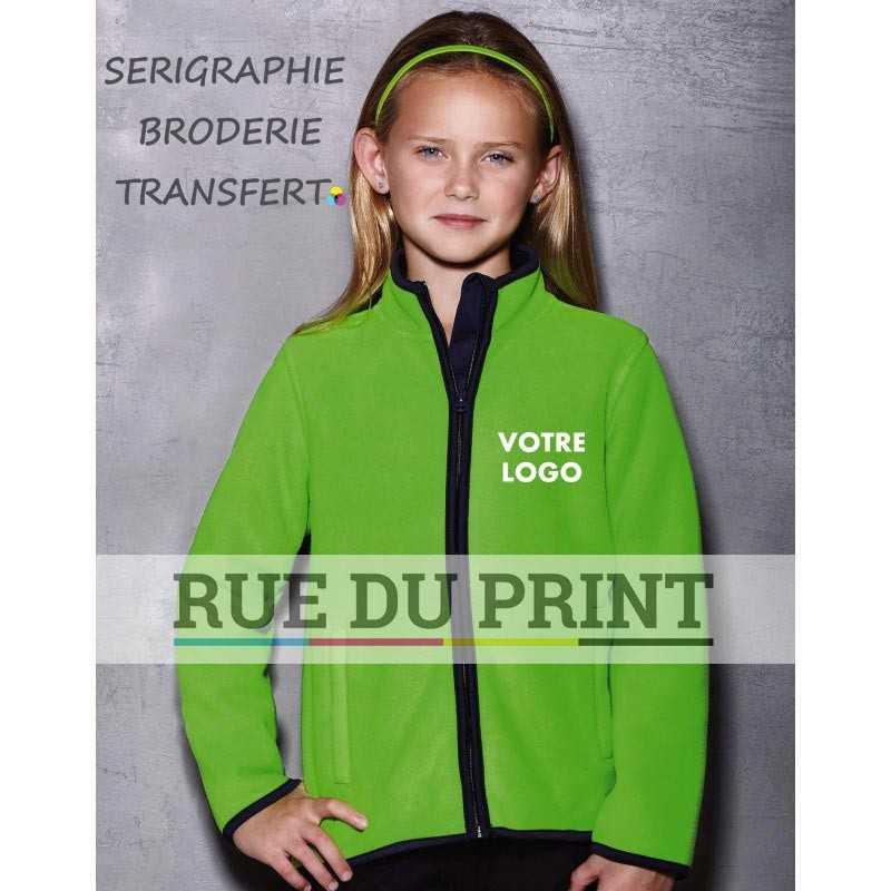Veste publicité enfant Active 400 g/m² 100% polyester (doublé polaire)
