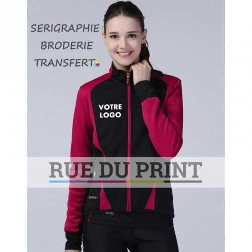 Gilet publicité femme Freedom Ext: 100% polyester, sèche rapidement int: 310 g/m², 100% polyester (polaire)