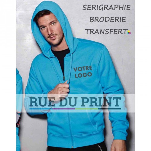 Gilet Sweat homme Active
