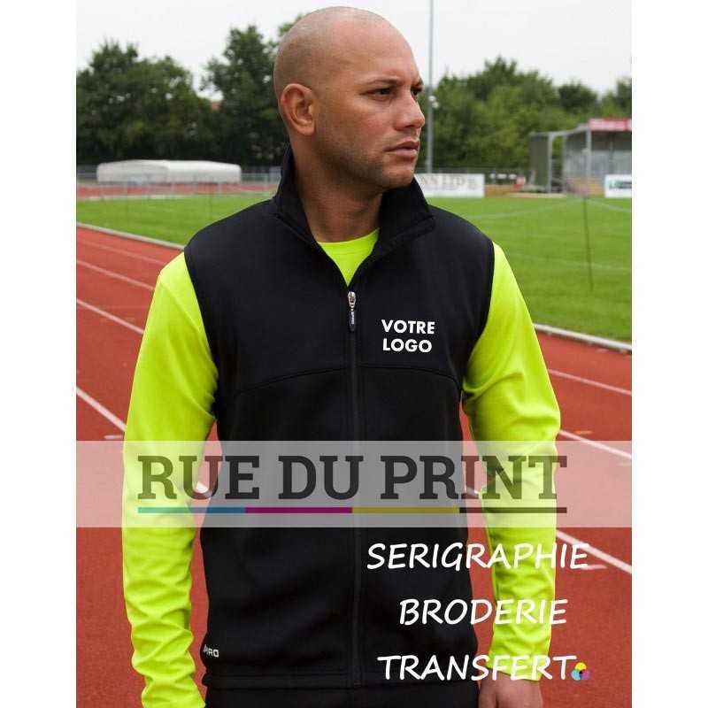 Gilet publicité Spiro Ext: 100% polyester int: 310 g/m², 100% polyester (polaire)