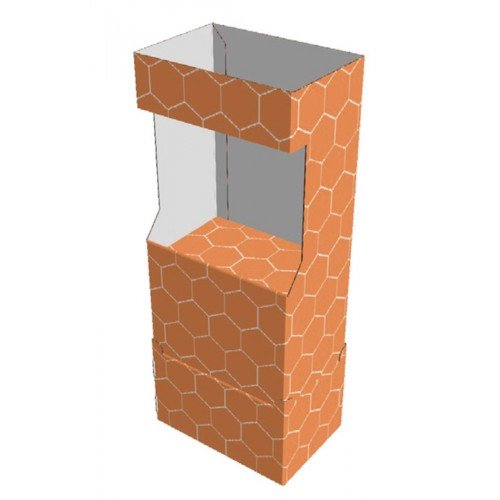 Etagère carton 60 x 40 x 150 cm - Modèle E