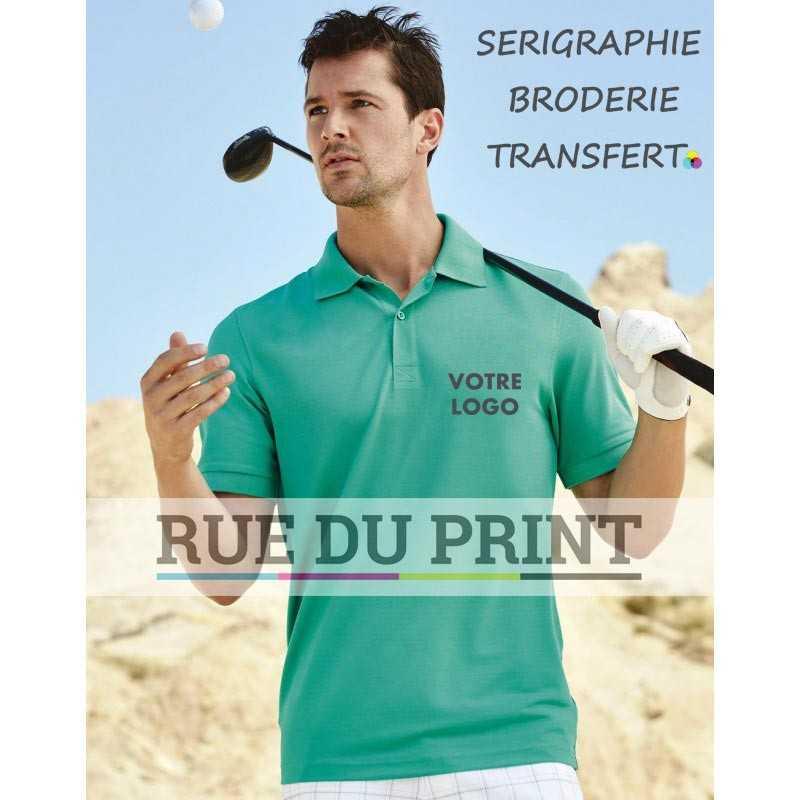 Polo publicité Active Piqué 180 g/m² 100% polyester (piqué, ACTIVE-DRY°)
