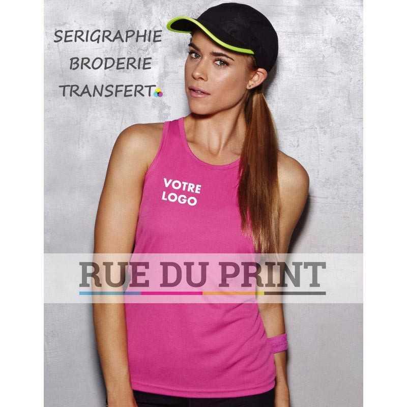 Débardeur publicité femme Active 140 g/m² 100% polyester (interlock, active-dry)