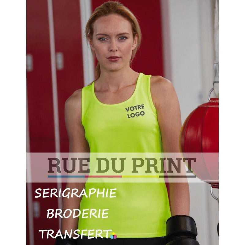 Débardeur publicité femme Fit Performance 140 g/m² 100% Polyester