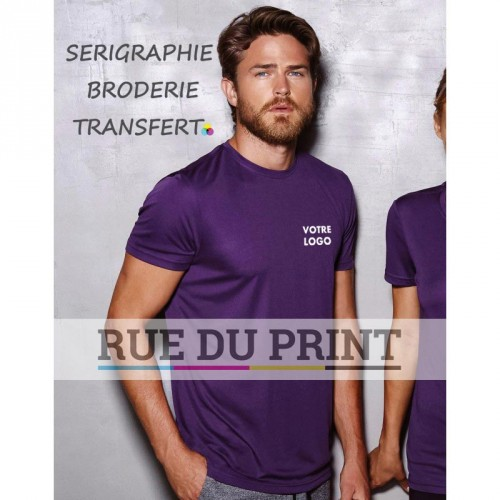 Tee-shirt publicité homme Active Sports