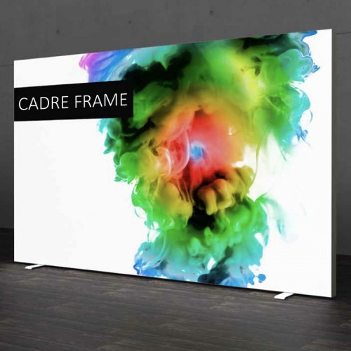 Cadre aluminium Light Box profil 19 mm