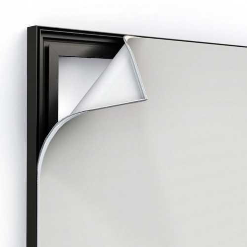 Cadre aluminium Light Box profil 100 mm
