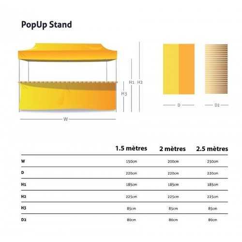 Tente stand