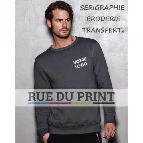 Sweatshirt publicité Active 270 g/m² 80% coton ringspun, 20% polyester