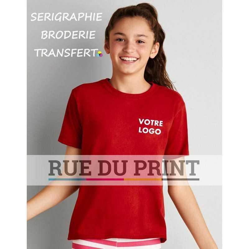 Tee-shirt publicité Gildan Performance 153 g/m² (White: 145g/m²) 100% polyester
