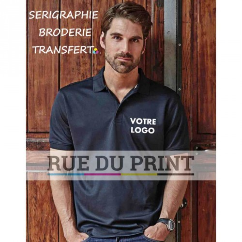 Polo publicité Performance 150 g/m² 100% micro polyester fonctionnel